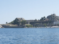 Old Fortress Corfu Town.