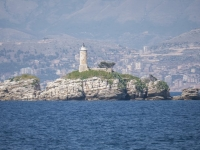 Kaperelli Island and Lighthouse.