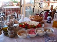Lunch at Kalami Fish Taverna, Boukari.
