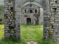 Entrance to the Old Schoolhouse, Old Peritheia
