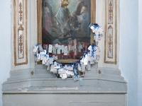 Inside Church of Pantokrator, Pontikonisi