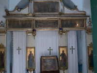 Inside Church of Pantokrator, Pontikonisi