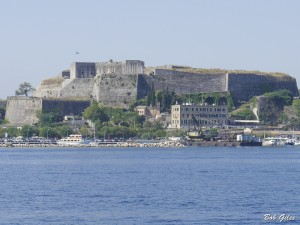 The New Fortress Corfu Town.